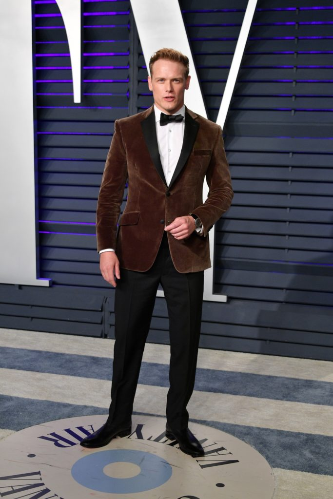 Sam Heughan 2019 Vanity Fair Oscar Party Hosted By Radhika Jones - Arrivals