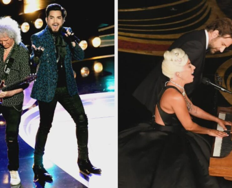 Adam Lambert Queen Lady Gaga Bradley Cooper Academy Awards