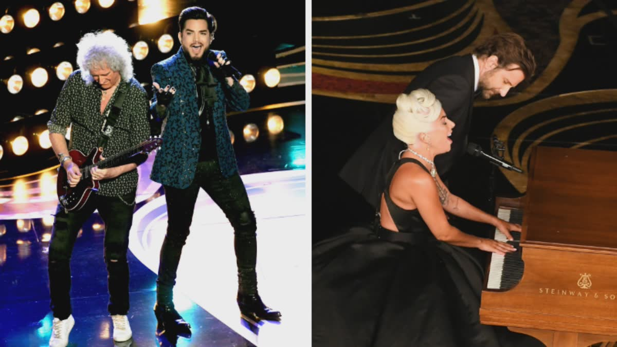 Adam Lambert Queen Lady Gaga Bradley Cooper Academy Awards