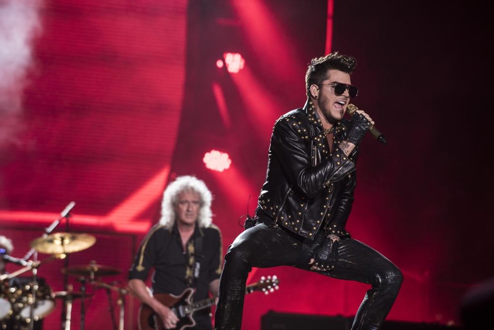 Adam Lambert 2015 Rock in Rio - Day 01