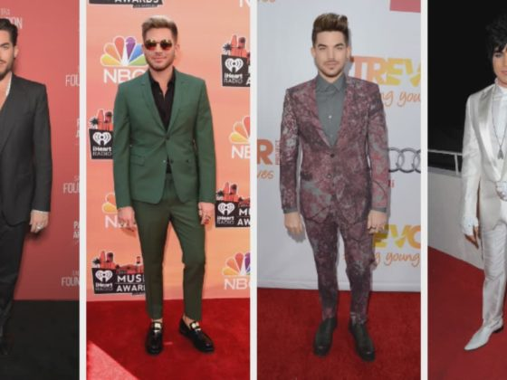 Adam Lambert's Red Carpet Looks Through the Years