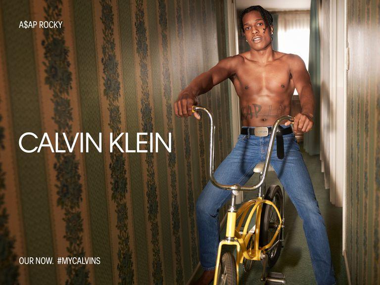 A$AP Rocky Calvin Klein Underwear and Jeans
