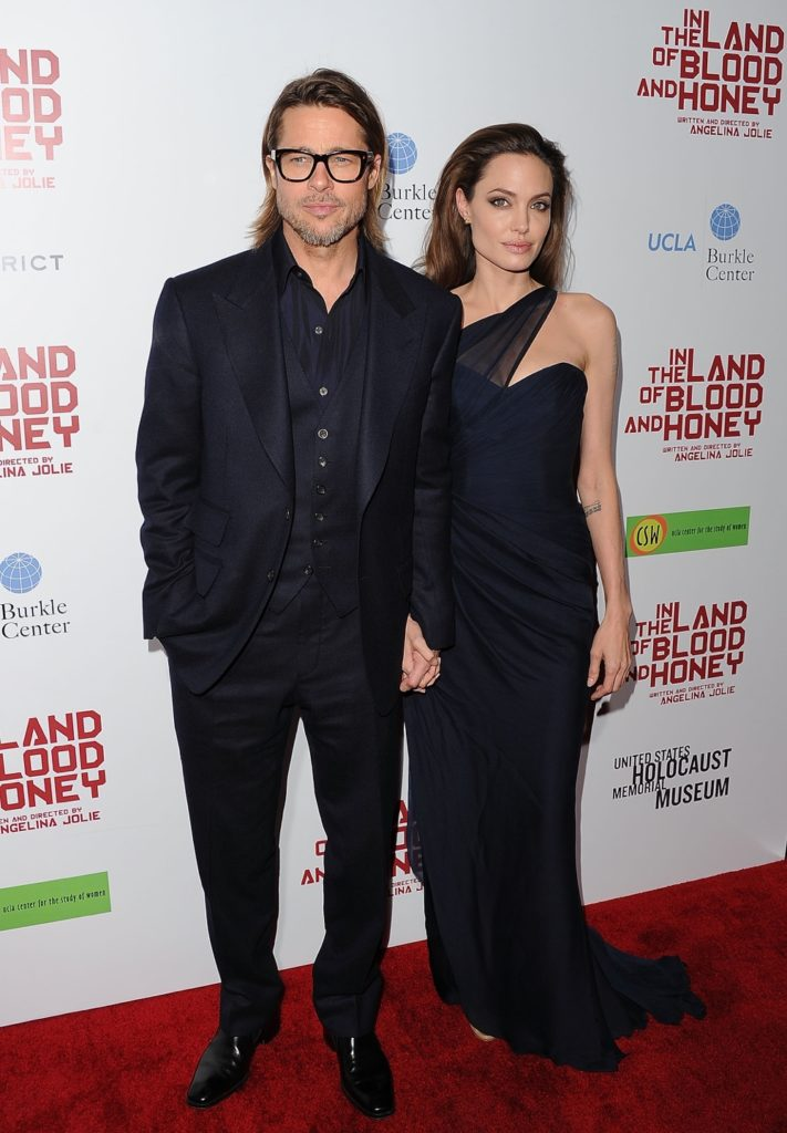 "Brad Pitt and Angelina Jolie Premiere Of FilmDistrict's ""In The Land Of Blood And Honey"" - Arrivals"