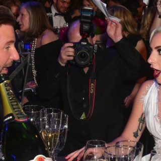 Actors Bradley Cooper and Lady Gaga attend the 25th Annual Screen Actors Guild Awards