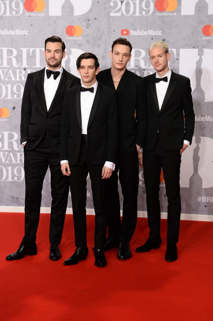 The 1975 The BRIT Awards 2019 - Red Carpet Arrivals