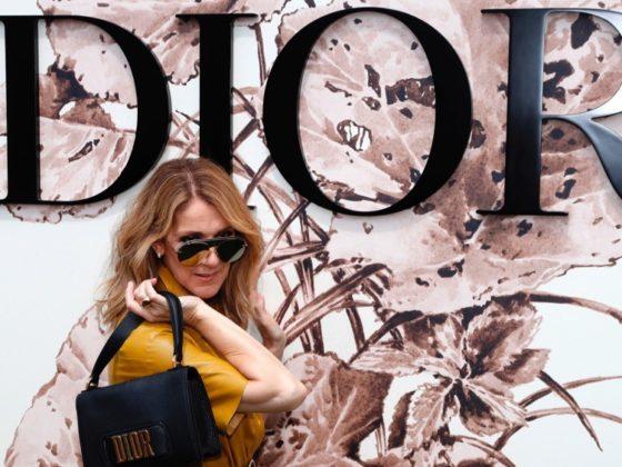 Celine Dion FASHION-FRANCE-CHRISTIAN DIOR-CELEBS