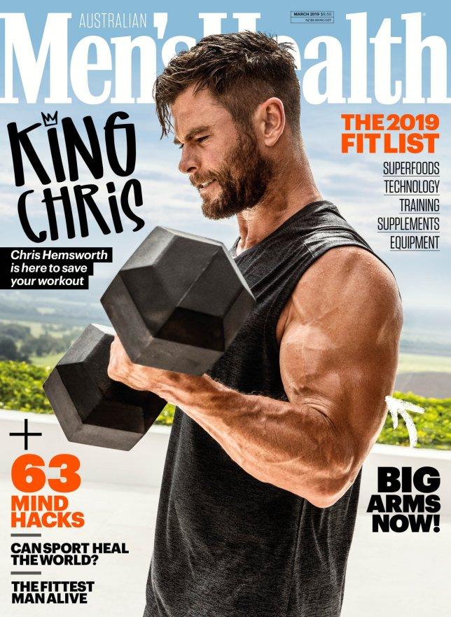 Chris Hemsworth for Men's Health