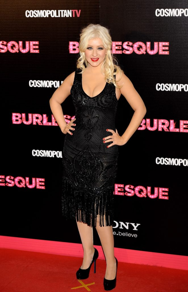 Christina Aguilera 'Burlesque' Premiere in Madrid