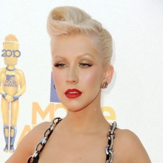 Christina Aguilera 2010 MTV Movie Awards - Arrivals