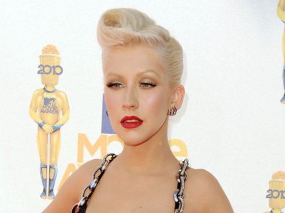 Christina Aguilera 2010 MTV Movie Awards - Arrivals