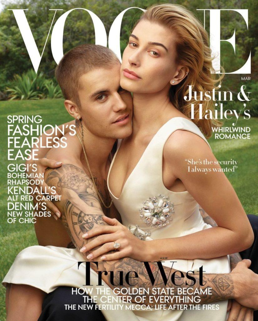 Justin Bieber Hailey Baldwin Vogue