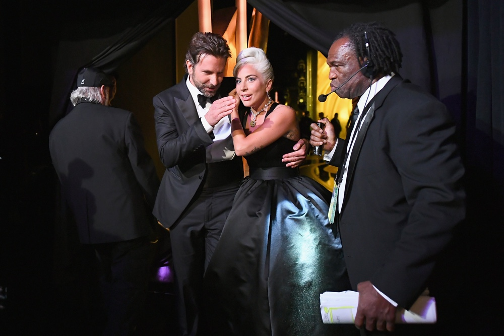 Bradley Cooper and Lady Gaga 91st Annual Academy Awards - Backstage