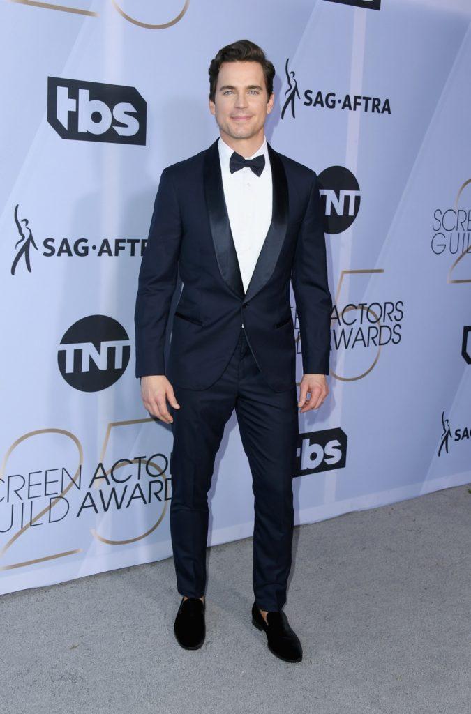 Matt Bomer 25th Annual Screen ActorsGuild Awards - Arrivals