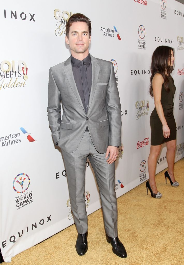 Matt Bomer CW3PR Presents Gold Meets Golden At Equinox Sports Club
