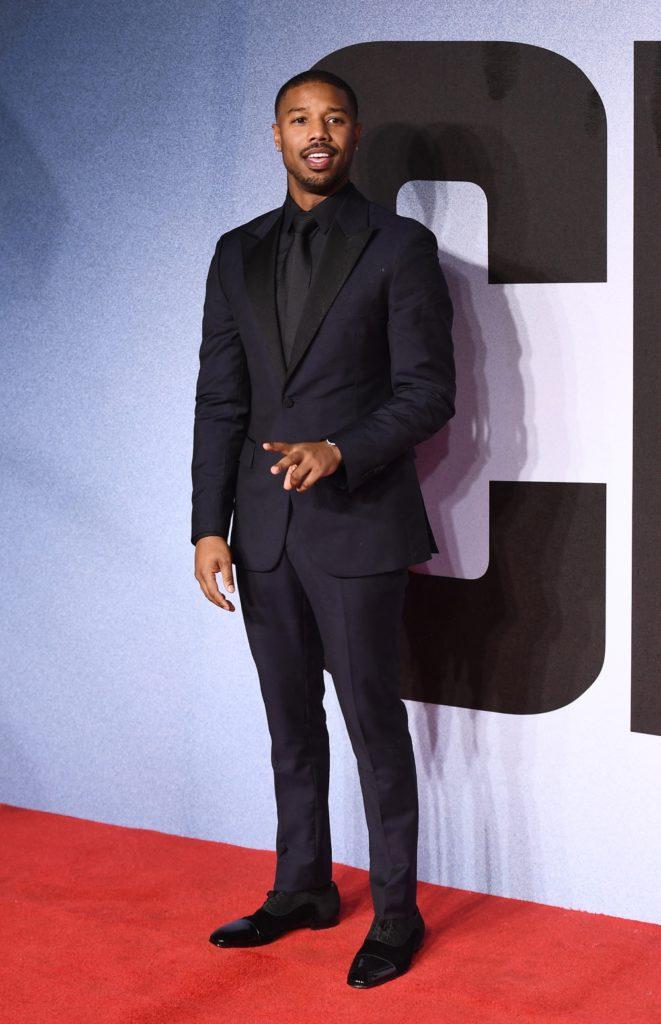 "Michael B Jordan ""Creed II"" European Premiere - Red Carpet Arrivals"