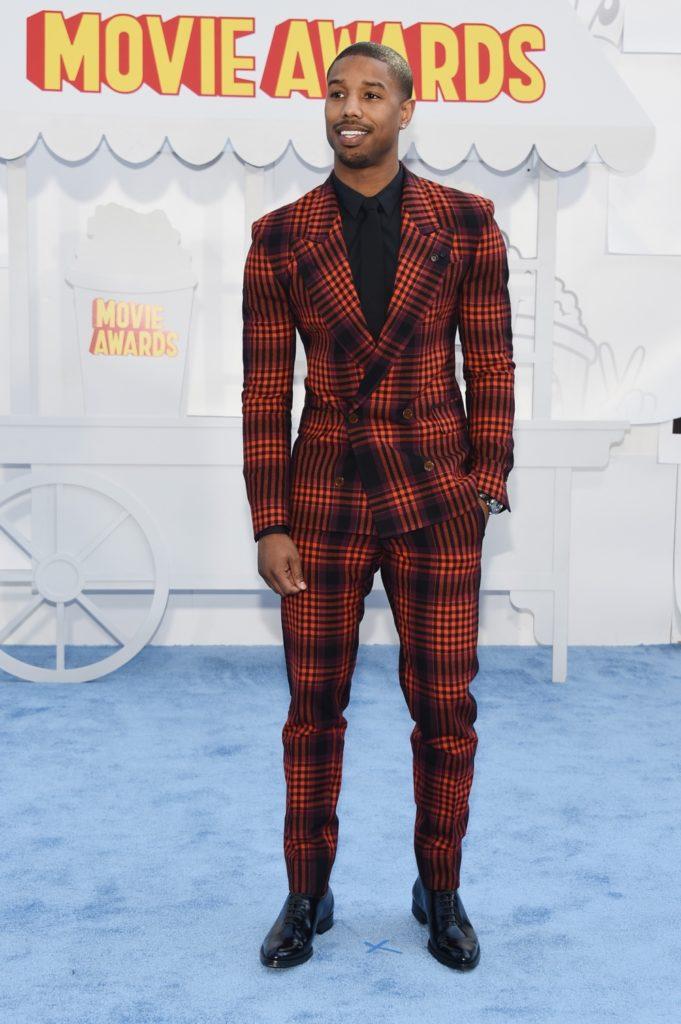 Michael B Jordan The 2015 MTV Movie Awards - Arrivals