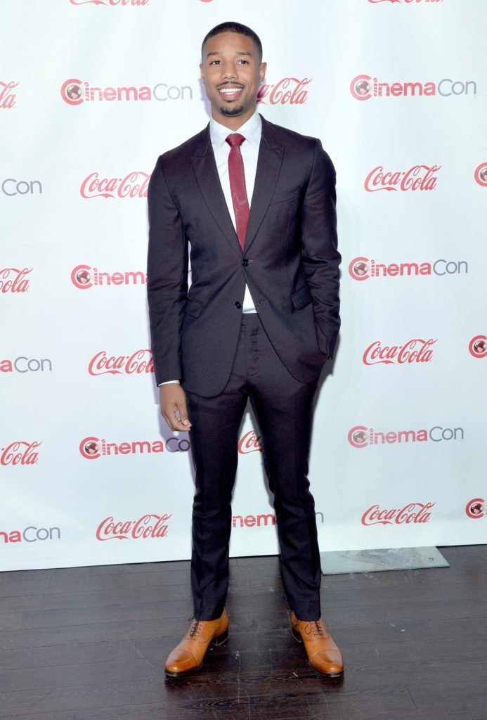 Michael B Jordan CinemaCon 2014 - The CinemaCon Big Screen Achievement Awards Brought To You By The Coca-Cola Company