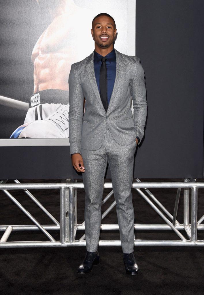 "Michael B Jordan Premiere Of Warner Bros. Pictures' ""Creed"" - Arrivals"