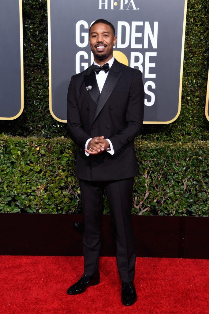 Michael B Jordan 76th Annual Golden Globe Awards - Arrivals