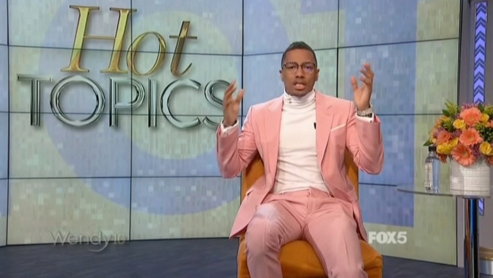 Nick Cannon Hot Topics
