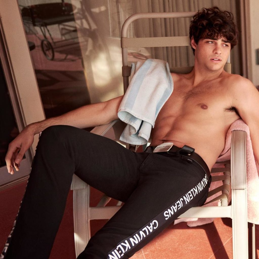 Noah Centineo Calvin Klein Underwear and Jeans