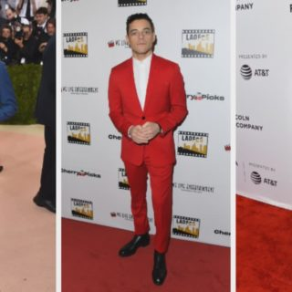 Rami Malek Red Carpet Photos