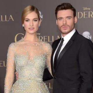 "Lily James and Richard Madden Premiere Of Disney's ""Cinderella"" - Arrivals"