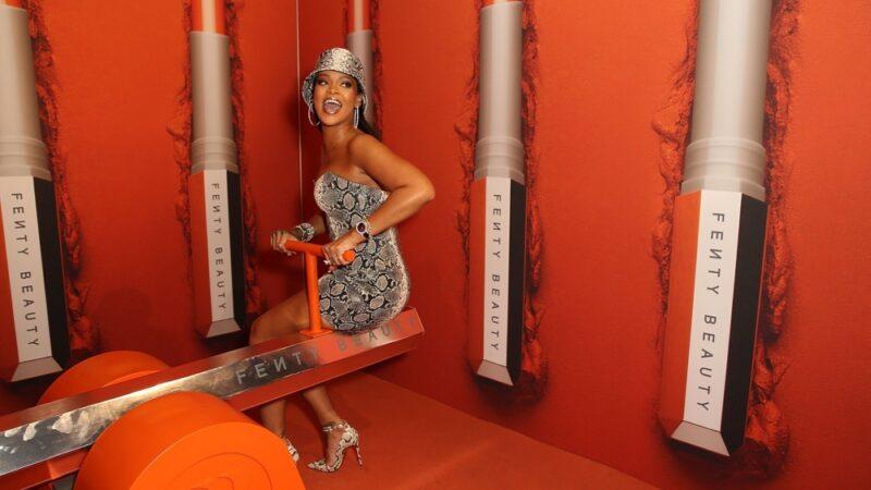Rihanna Fenty Beauty By Rihanna Anniversary Event