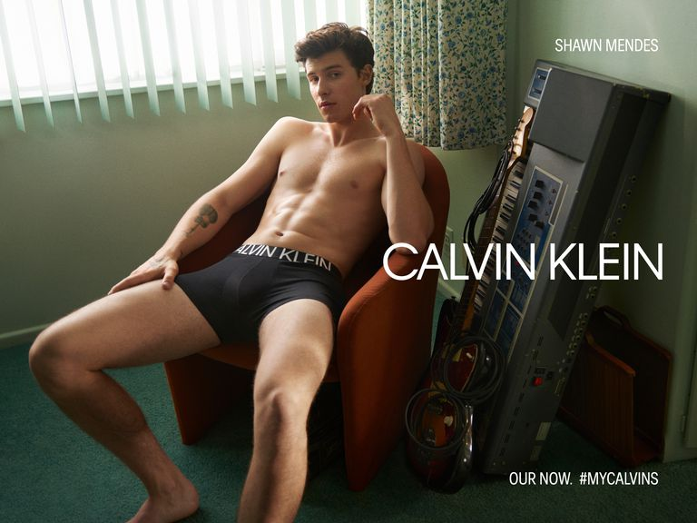 Shawn Mendes Calvin Klein Underwear and Jeans