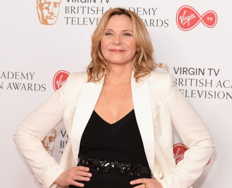 Congrats to Kim Cattrall on Her New Show! 2