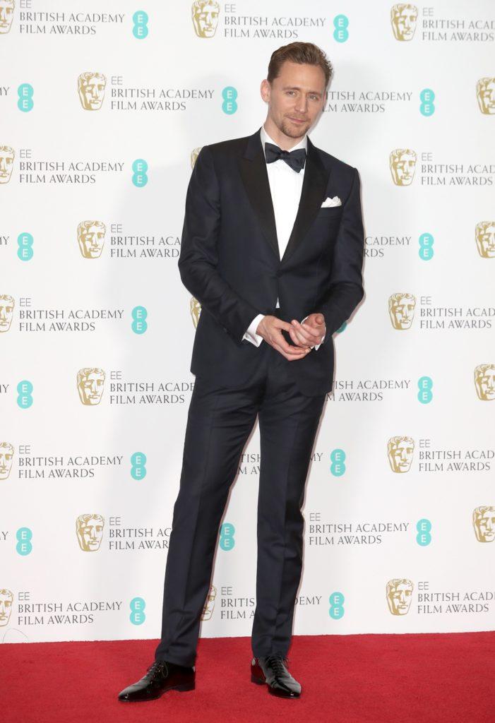 Tom Hiddleston EE British Academy Film Awards - Winners Room