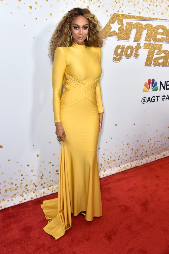 "Tyra Banks ""America's Got Talent"" Season 13 Live Show Red Carpet"