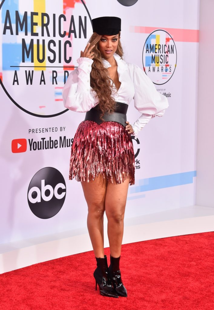 Tyra Banks 2018 American Music Awards - Arrivals
