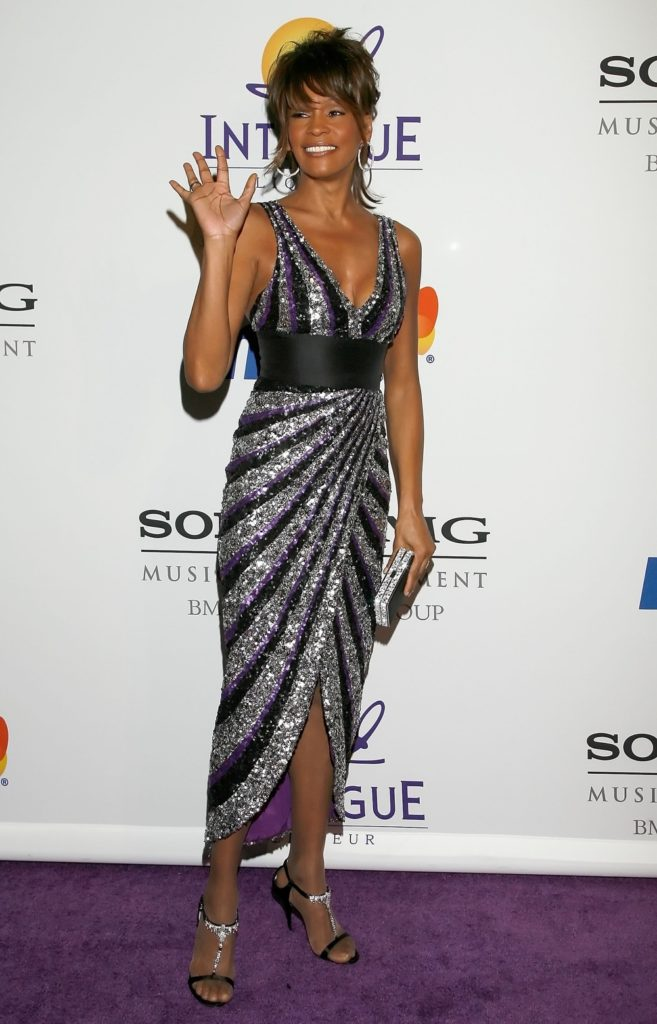 Whitney Houston Clive Davis Pre-GRAMMY Party - Arrivals