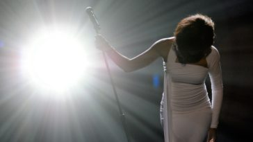 Whitney Houston 2009 American Music Awards - Show
