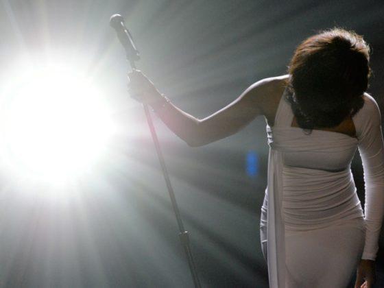 Whitney Houston 2009 American Music Awards - Show