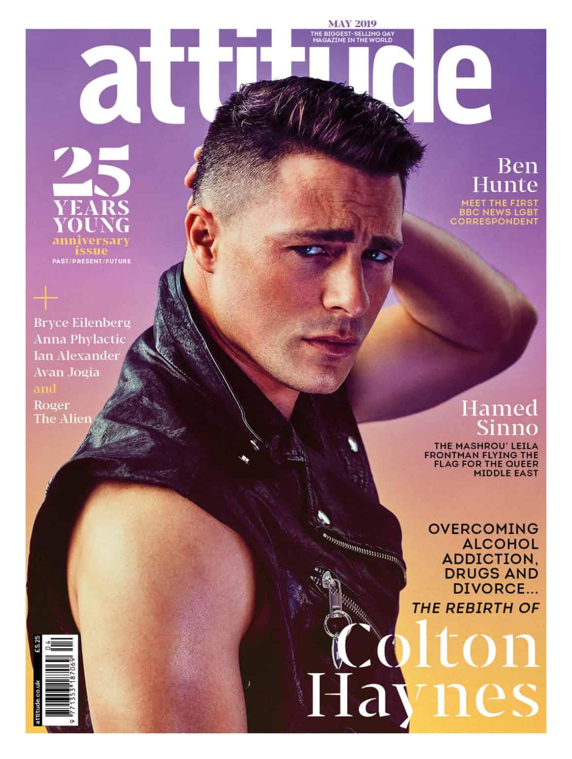 Colton Haynes Attitude Magazine