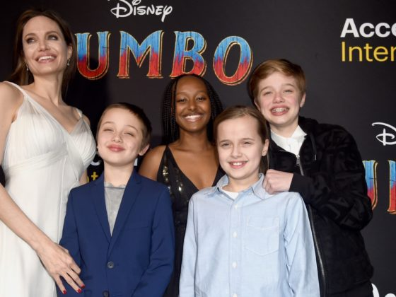 Angelina Jolie US-ENTERTAINMENT-DISNEY-FILM-DUMBO