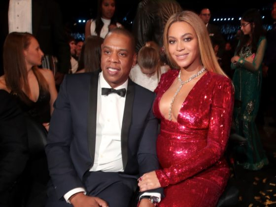 Beyonce and Jay Z The 59th GRAMMY Awards - Roaming Show