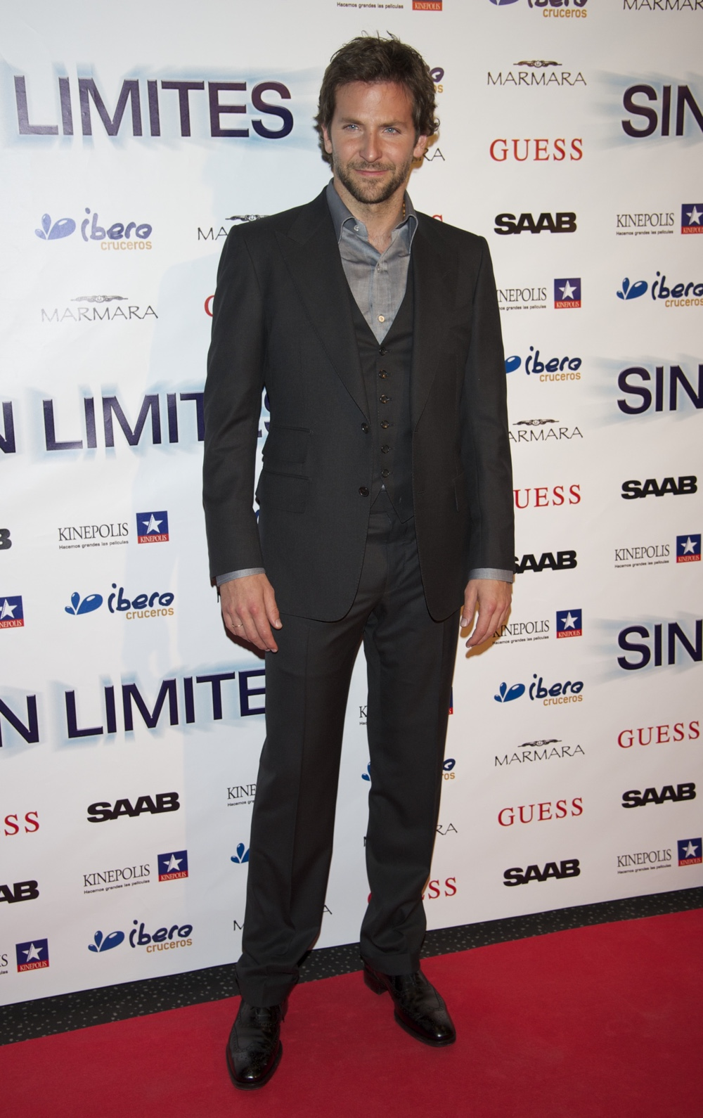 Bradley Cooper attends 'Limitless' Premiere in Madrid