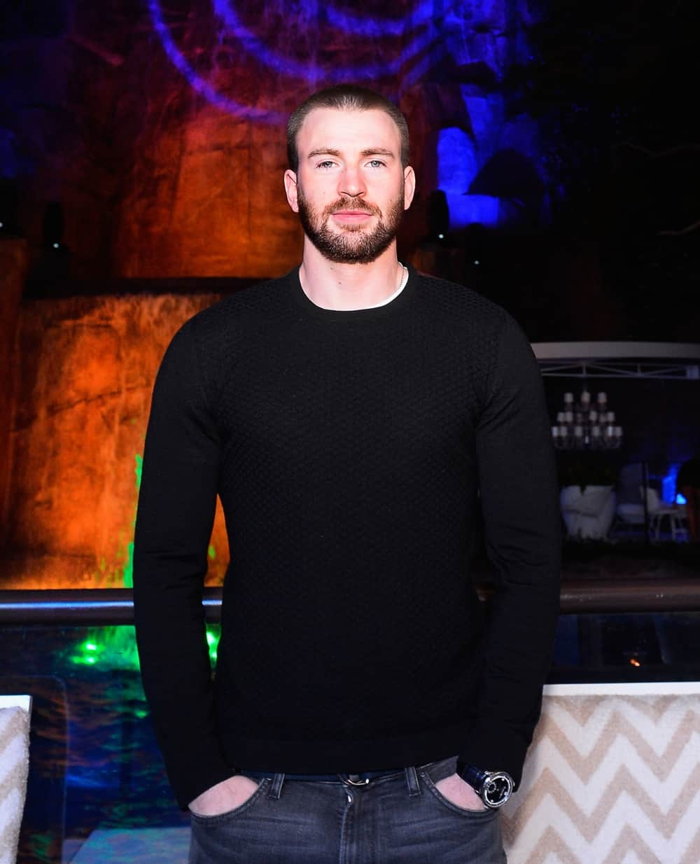 Chris Evans Billboard Music Awards Kick-Off Party At Intrigue Nightclub, Wynn Las Vegas, Hosted By Billboard's John Amato And DuJour Media's Jason Binn
