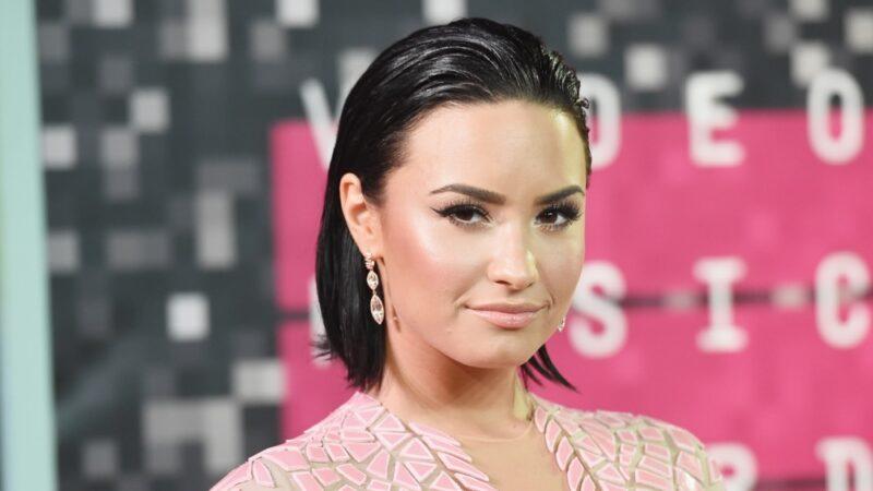 Demi Lovato 2015 MTV Video Music Awards - Arrivals
