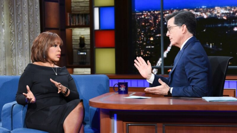 Gayle King The Late Show with Stephen Colbert