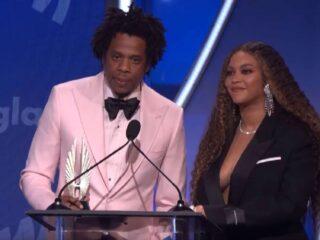 Beyoncé and Jay-Z GLAAD Media Awards