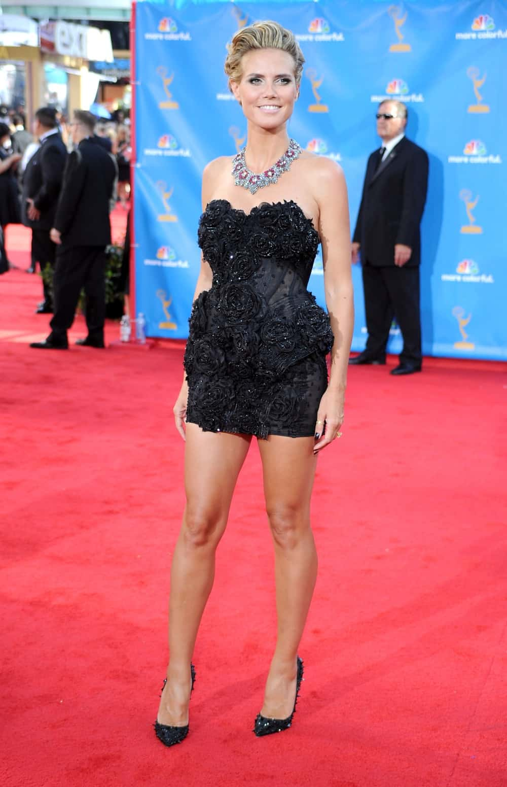 Heidi Klum 62nd Annual Primetime Emmy Awards - Arrivals