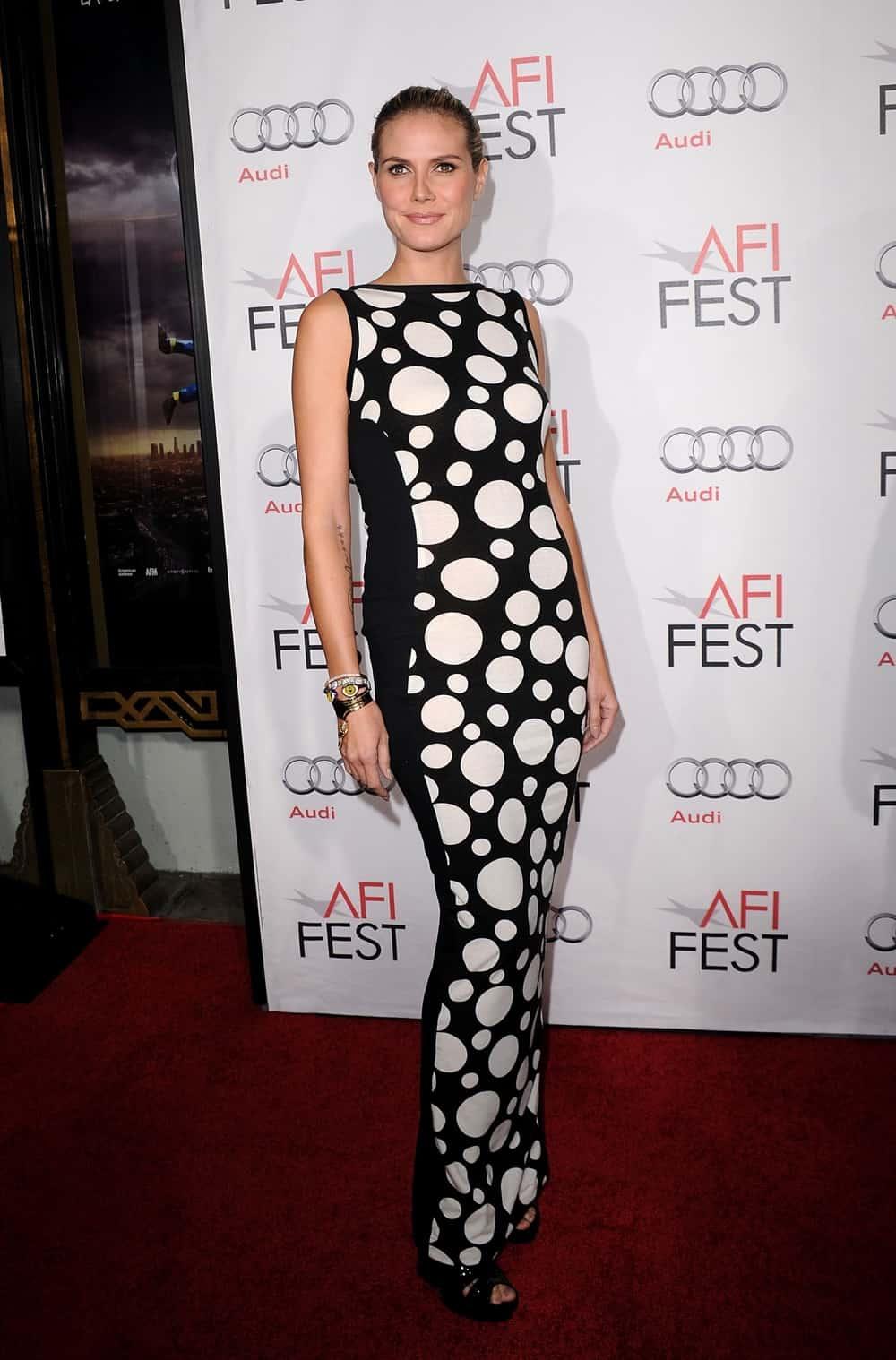 "Heidi Klum AFI FEST 2010 Presented By Audi - ""Black Swan"" Closing Night Gala - Arrivals"