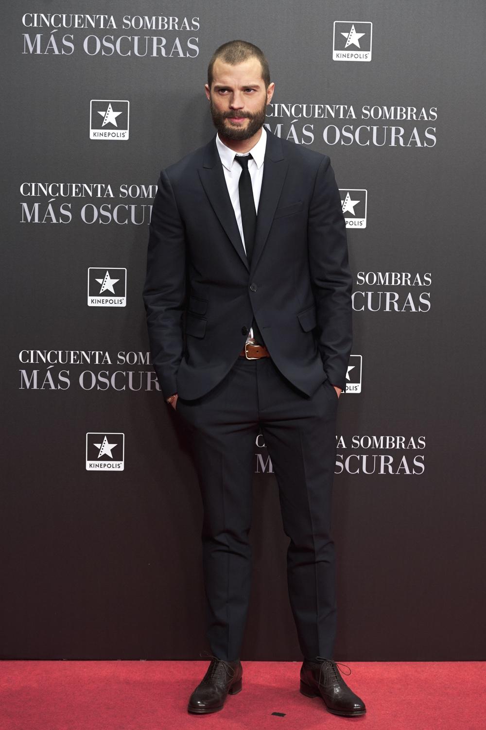 Jamie Dornan 'Fifty Shades Darker' Madrid Premiere