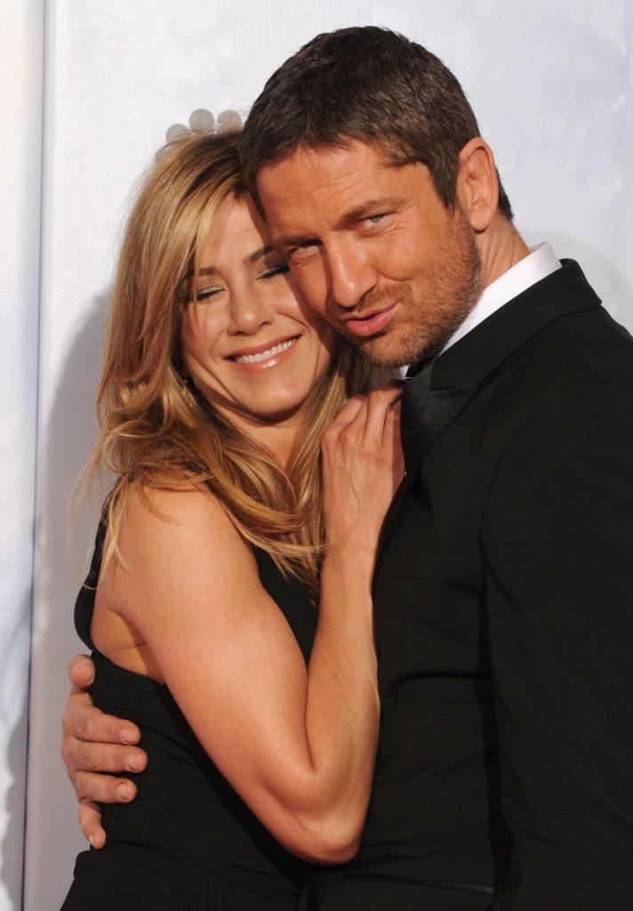 Jennifer Aniston and Gerard Butler 67th Annual Golden Globe Awards - Press Room