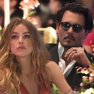 Johnny Depp and Amber Heard The Art of Elysium Presents Their 9th Annual Heaven by Visionaries Vivienne Westwood & Andreas Kronthaler
