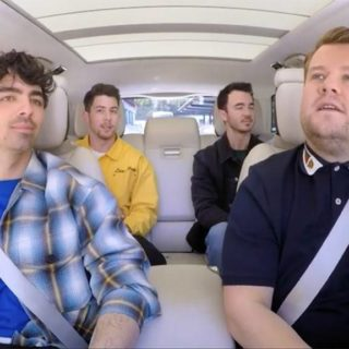 Jonas Brothers James Corden